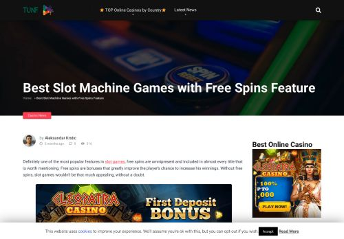 Vip Casino Directory for Best Slot Machine Games with Free Spins Feature - Tunf News analysis casino casino phone casino casino