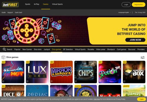 Vip Casino Directory for Dice  Online Dice  betFIRST Casino analysis sites casino planetwin365 responsibilities north