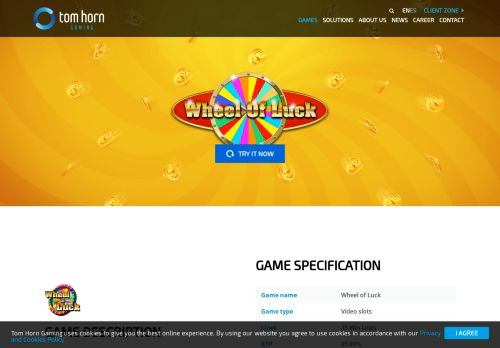 Vip Casino Directory for Wheel of Luck - Tom Horn Gaming analysis directory casino vip vip vip