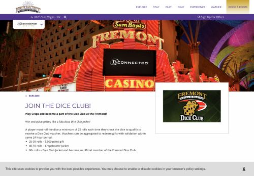 Vip Casino Directory for Dice Club  Fremont Hotel  Casino analysis casino vip casino directory directory