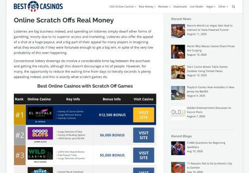 Vip Casino Directory for Online Scratch Offs For Real Money USA analysis apk vip vip premier lounge