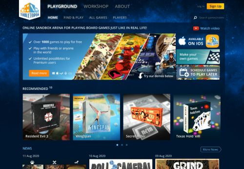 Vip Casino Directory for Play 1000 Board Games Online for Free  Tabletopia analysis casino casino malaysia express slots