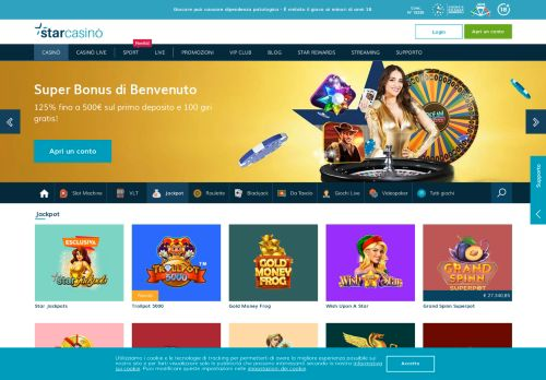 Vip Casino Directory for Jackpot Slot Montepremi pi Alti dei Casin Online - StarCasin analysis directory quest casino grand staff