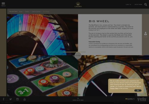 Vip Casino Directory for Big Wheel Table Games at the Casino - Crown Melbourne analysis casino vip no deposit gta