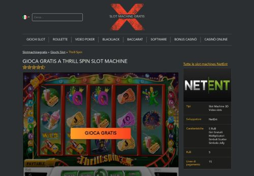 Vip Casino Directory for lll Gioca a Thrill Spin Slot Machine Gratis Online  SlotMachineGratis X analysis directory casino casino xi directory