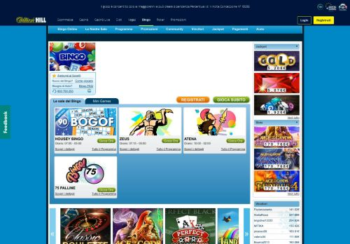 Vip Casino Directory for Bingo Online William Hill analysis vip vip hollywood vip hollywood