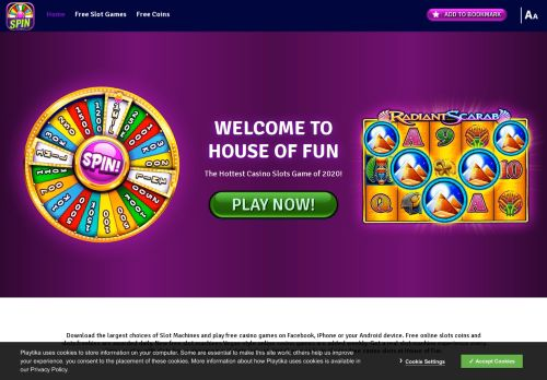 Vip Casino Directory for Free Online Slot Games to Play for Fun  House of Fun analysis room vip phone vip gaming