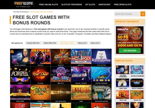 Vip Casino Directory for Free Slot Machines with Bonus Rounds  No Download analysis casino vip casino tropical casino