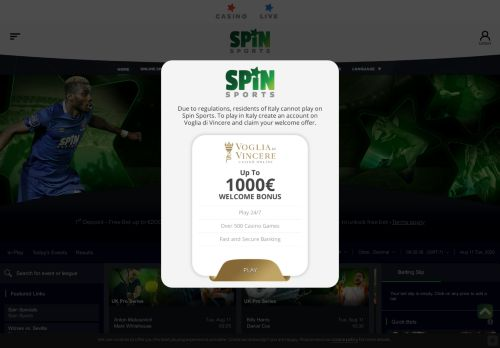 Vip Casino Directory for Spin Sports  The Worlds No1 Sportsbook analysis host casino jobs card 24